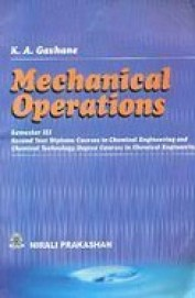 Mechanical Operations Fundamental Principles &    Applications