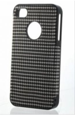 CDN iphone 4 / 4s Carbon Fiber Back Cover (G018 - 16) With Value Bundle Package
