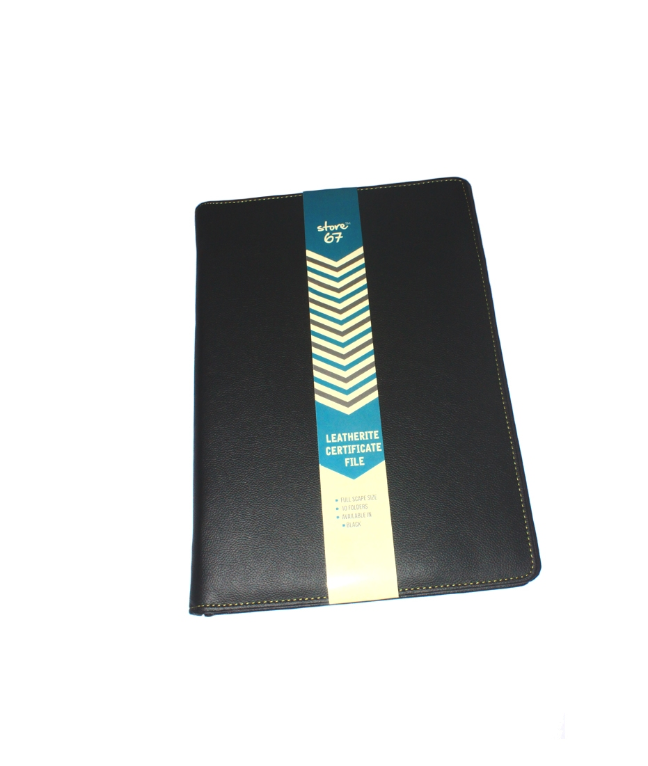Store67 Certificate file With Zip (10 Sleeves)