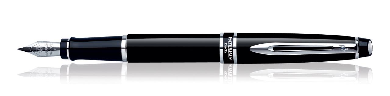 Waterman Expert Black CT Fountain Pen (Fine Nib)