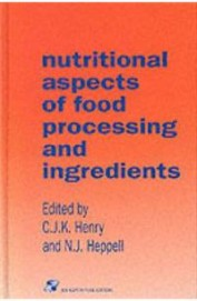 Nutritional Aspects Of Food Processing & Ingredients