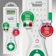 Electronic Dictionary Bookmark - Dual Language (Italian - English)