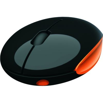 Portronics iMooze wireless (Black Orange)