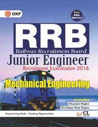 Rrb Mechanical Engineering Junior Engineer Recruitment Examination 2016