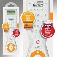 Electronic Dictionary Bookmark - Dual Language (Spanish - English)
