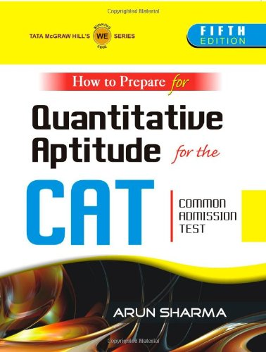 How to Prepare for Quantitative Aptitude for the CAT Common Admission Test 5th  Edition price comparison at Flipkart, Amazon, Crossword, Uread, Bookadda, Landmark, Homeshop18