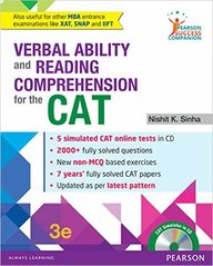 Cat Verbal Ability & Reading Comprehension  W/Cd