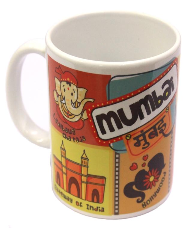 Store67 Mug - Mumbai city