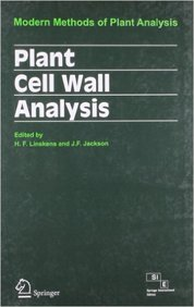 Plant Cell Wall Analysis Modern Methods Of Plant Analysis