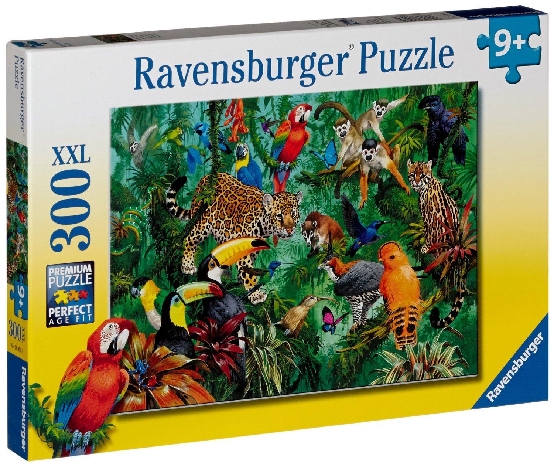 Ravensburger 300 Pcs Puzzle - Wild Jungle