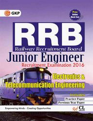 Rrb Elecronics & Telecommunication Engineering Junior Engineer Recruitment Examination 2016