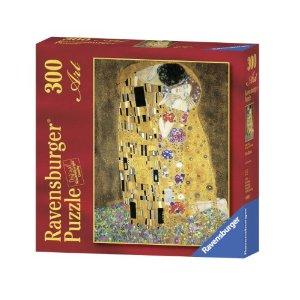 Ravensburger 300 Pcs Klimt: The Kiss