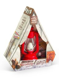 The Base Camp Reading Lamp-Expedition Red