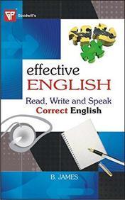 Effective English: Read, Write and Speak Correct English