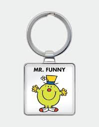 Mr. Funny Keyring