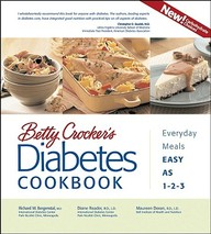 Betty Crocker's Diabetes Cookbook: Everyday Meals, Easy As 1-2-3