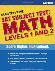 Master Sat Ii Math 1c And 2c 4th Ed (Master The Sat Subject Tests. Math Levels I And Ii)