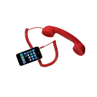 Portronics Portable Retro Phoni 2 (Red)