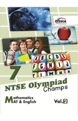 Ntse Olympiad Champs Mathematics Mat & English Vol 2 Class 7