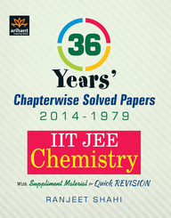 IIT JEE - Chemistry : 36 Years Chapterwise Solved Papers (2014 - 1979) (English) 12th  Edition price comparison at Flipkart, Amazon, Crossword, Uread, Bookadda, Landmark, Homeshop18