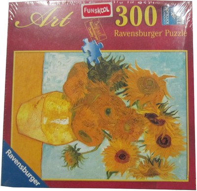 Ravensburger 300 Pcs Van Gogh:Sunflowers