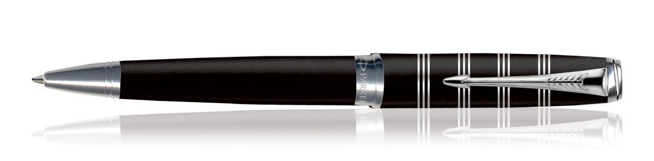 Parker Latitude Black CT Ballpoint Pen