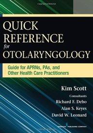 Nurses' Quick Reference Guide for Otolaryngology price comparison at Flipkart, Amazon, Crossword, Uread, Bookadda, Landmark, Homeshop18
