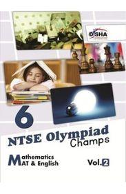 Ntse Olympaid Champs Mathematics Mat & English Vol 2 Class 6
