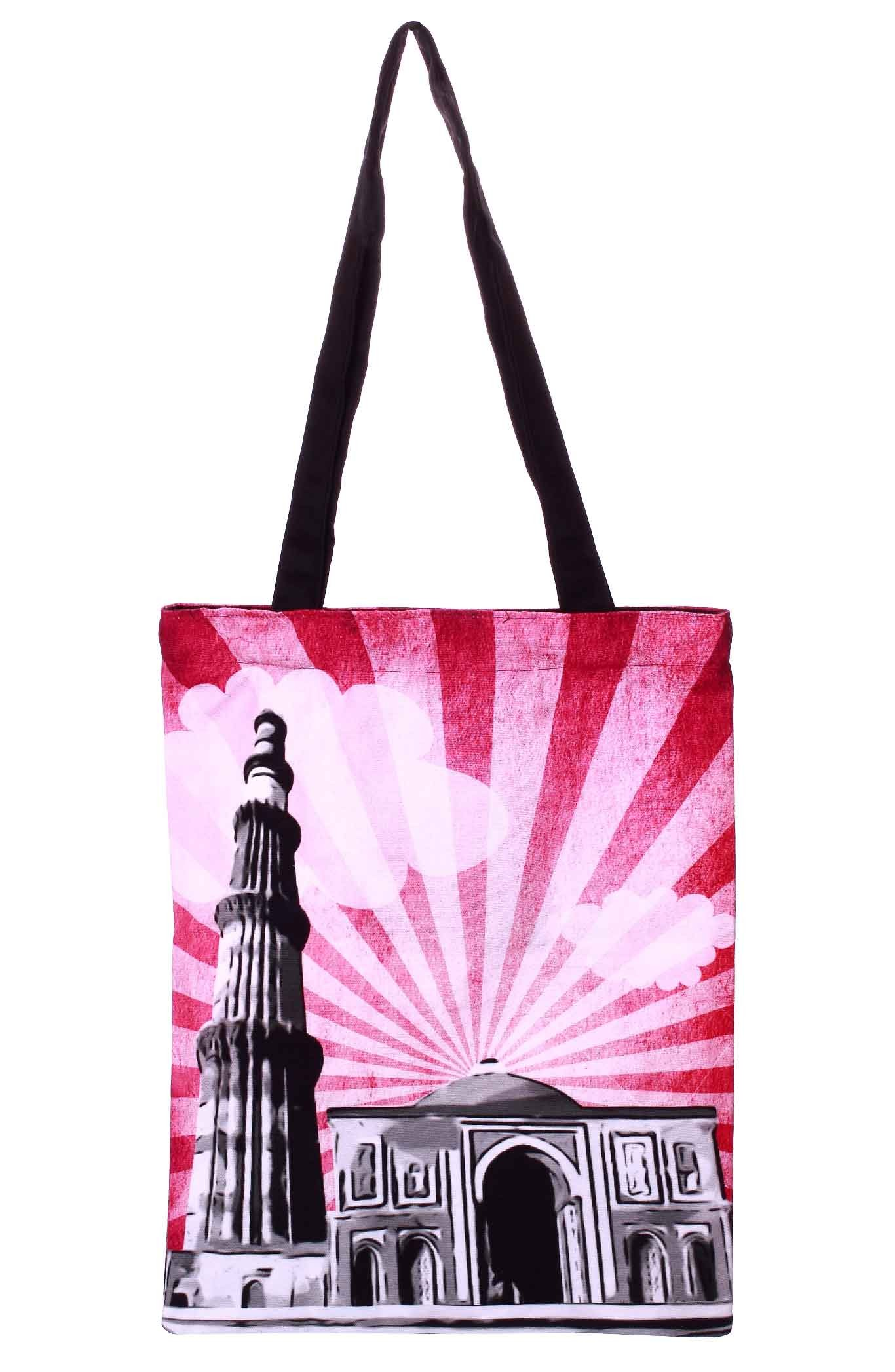Qutub Minar Sunburst Bag