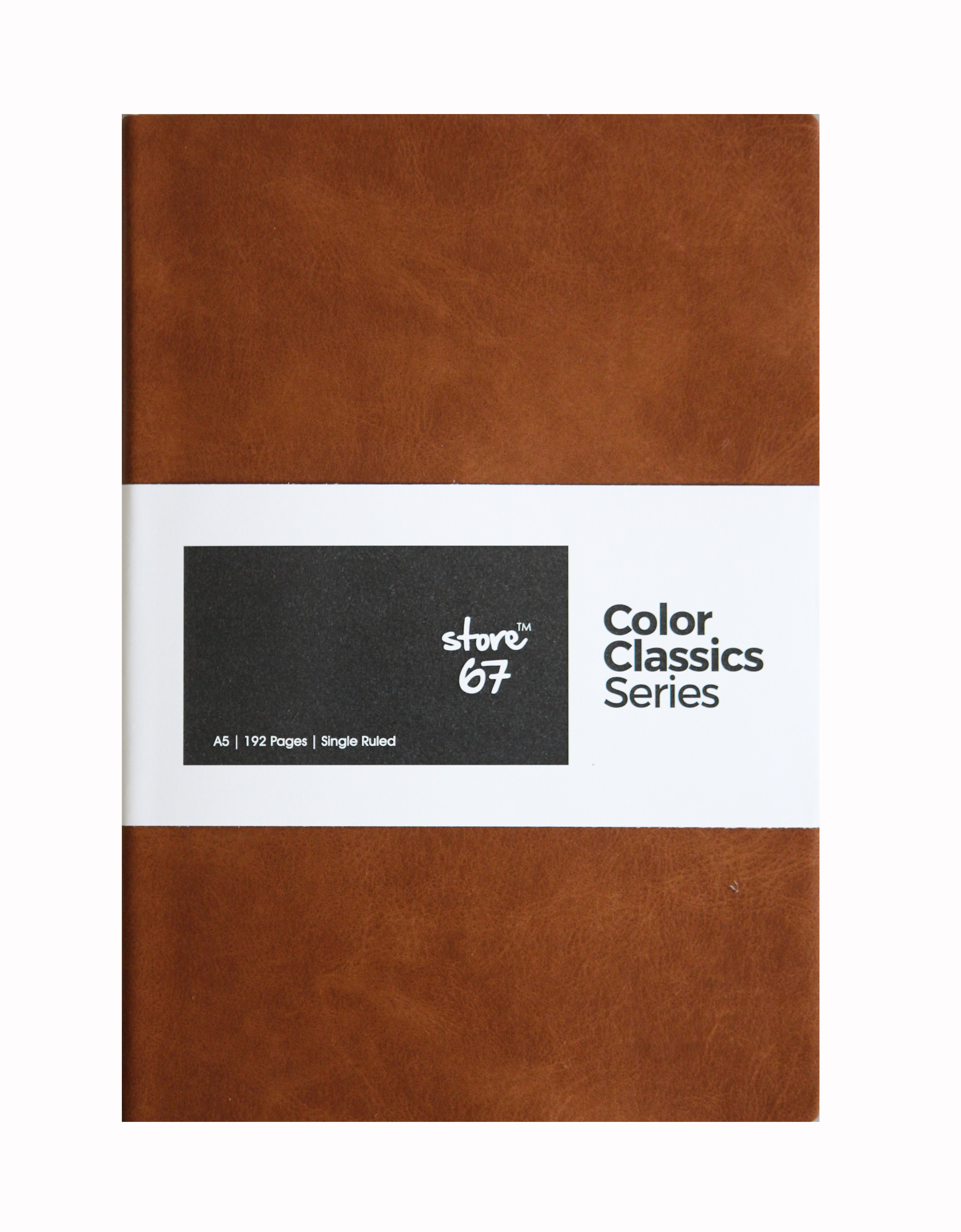 SR A5 - Color Classics 192 pgs - Tan Brown and brown