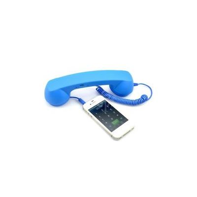 Portronics Portable Retro Phoni 2 (Blue)