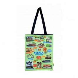 Eco Corner Small Coloured Kerala Cotton Bag
