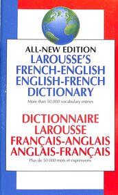 Dictionnaire Larousse Francais Anglais Anglais Francais
