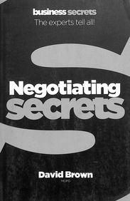 Negotiating - Collins Business Secrets