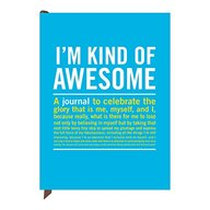 Knock Knock Im Kind of Awesome Journal