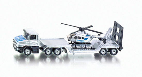 Funskool Low Loader With Helicopter