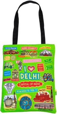 Eco Corner Small Coloured Delhi Cotton Bag