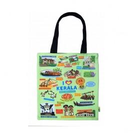 Eco Corner Big Coloured Kerala Cotton Bag