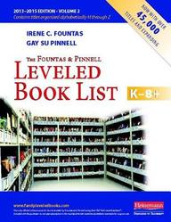 The Fountas and Pinnell Leveled Book List, K-8+, Volume 2 price comparison at Flipkart, Amazon, Crossword, Uread, Bookadda, Landmark, Homeshop18
