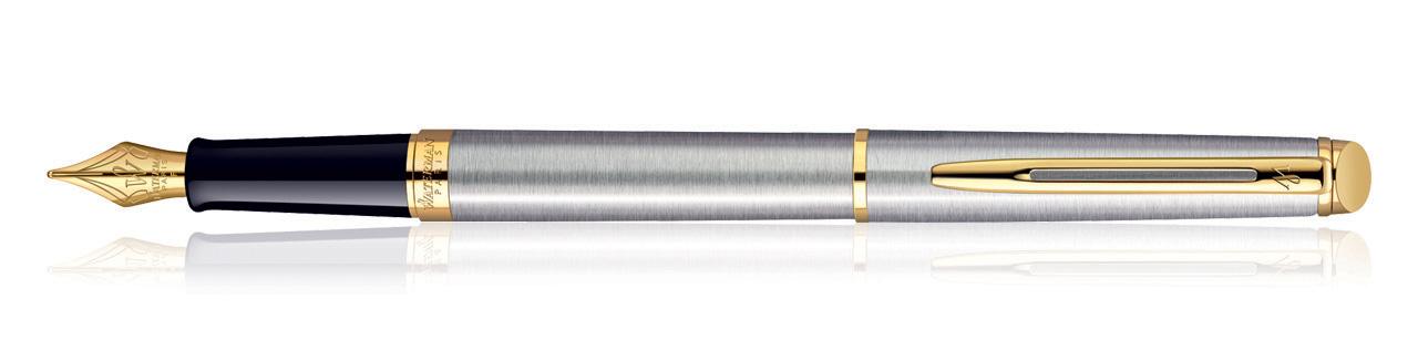 Waterman Hemisphere SS GT Fountain Pen (Fine Nib)