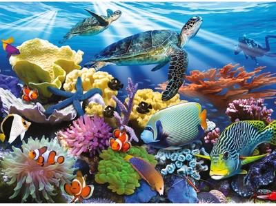 Ravensburger 200 Pcs Puzzle - Ocean Turtles