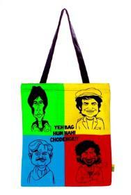 Eco Corner Big Sholay Tribute Cotton Bag
