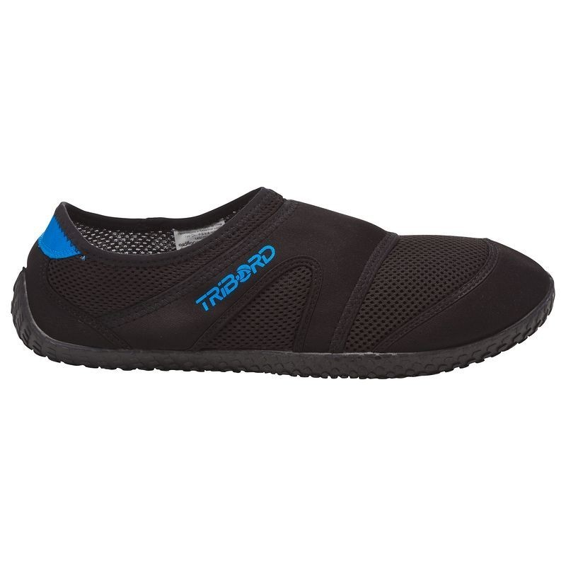 Kayaking Equipments (Size - 12.5-13 Uk) - Menand#039;S Aquashoes 100 Black/Blue