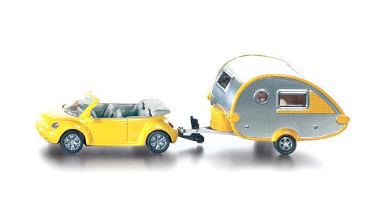 Funskool Car With Trailer Caravan