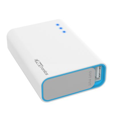 Power Bank Charge One : Worlds Smallest Charger(White)