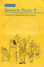 1072 Social Science Democratic Politics 2 Text Book In Political Science For Class 10 - Ncert