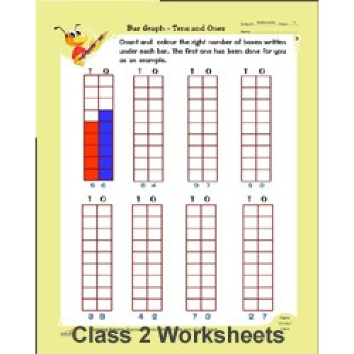 CLASS 2 MATHS , ENGLISH & EVS WORKSHEETS Book by - Buy ...