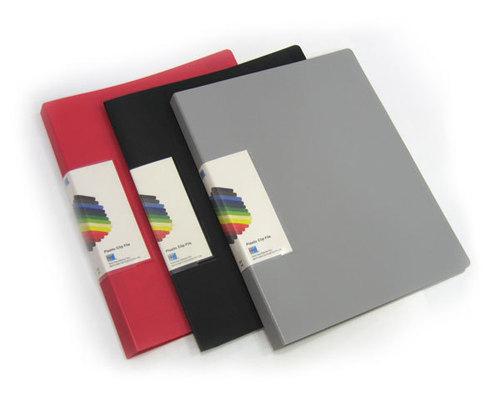 Neo Clip File - Plastic Slide Bar, Standard