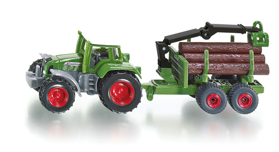 Funskool Tractor With Forestry Trailer