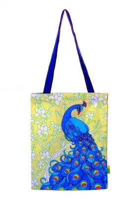 Eco Corner Small Yellow Elegant Peacock Bag